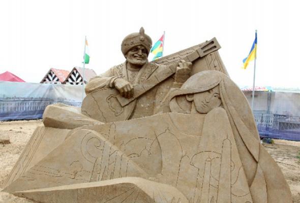 XII Международный фестиваль песчаных скульптур - Фото №7