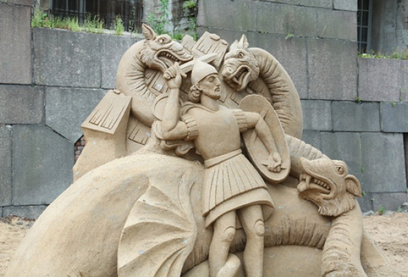 XII Международный фестиваль песчаных скульптур - Фото №6