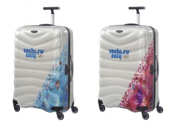 Samsonite выпустили чемоданы кОлимпиаде - Фото №2