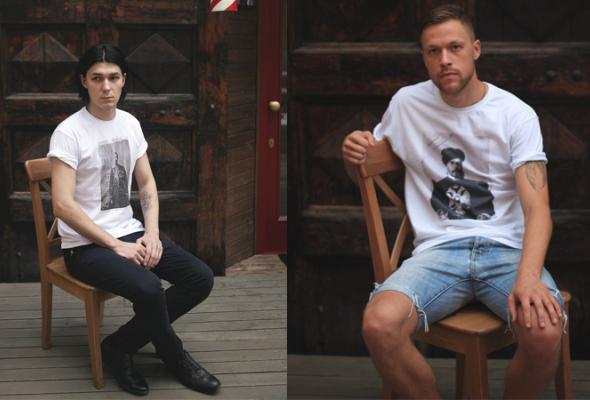 Новая коллекция футболок сдизайнерскими принтами в«яМайке» - Фото №1