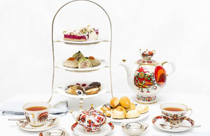 Традиционное русское чаепитие вГранд Отеле Европа