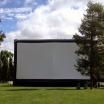 Летний кинотеатр в саду Эрмитаж