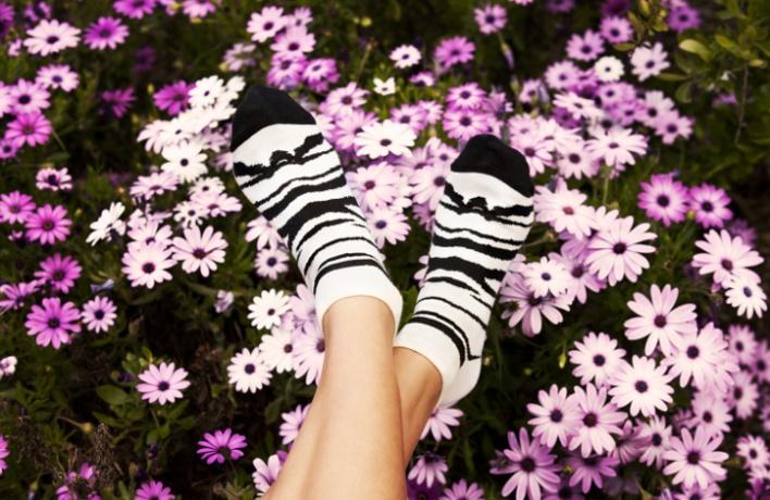 Большой корнер Happy Socks