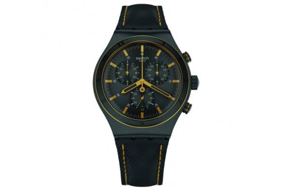 УSwatch появились новые часы ссерьезным дизайном - Фото №0
