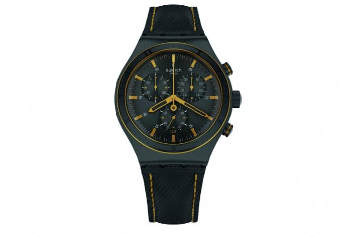 УSwatch появились новые часы ссерьезным дизайном