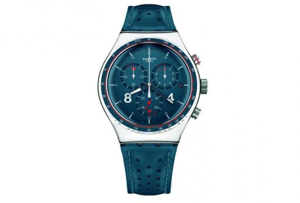 УSwatch появились новые часы ссерьезным дизайном - Фото №1