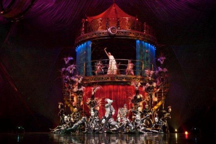 KOOZA. Cirque du Soleil