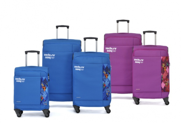 Samsonite выпустили чемоданы к Олимпиаде - Фото №0