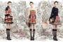 Лукбук осенне-зимней коллекции Red Valentino