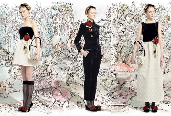 Лукбук осенне-зимней коллекции Red Valentino - Фото №9