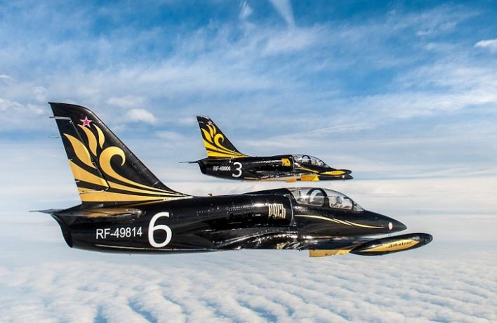 Высший пилотаж «Золотой Бочки» наМАКС