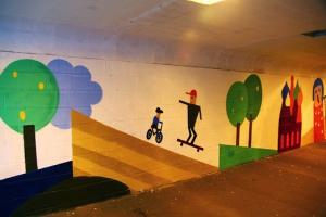 Третье транспортное кольцо украсят граффити