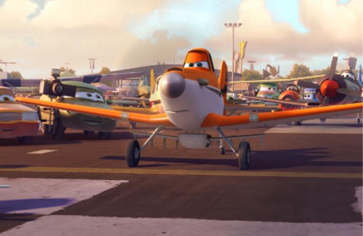 Disney&MasterCard организуют предпремьерный показ «Самолетов»