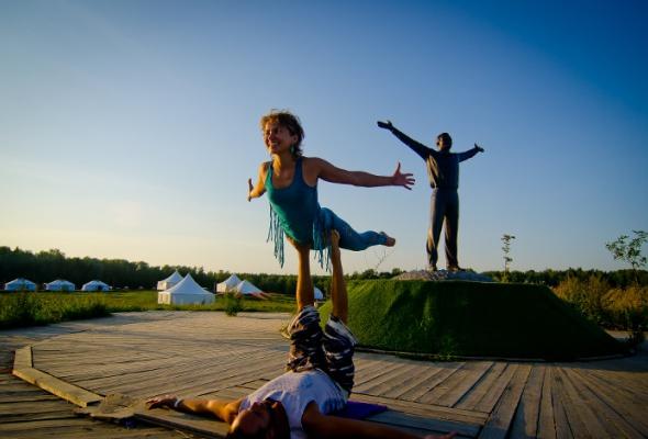 Вкультурном центре Этномир прошел фестиваль FREE SPIRIT YOGA FEST - Фото №0