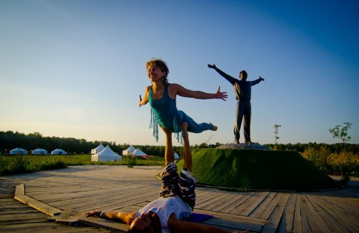 Вкультурном центре Этномир прошел фестиваль FREE SPIRIT YOGA FEST
