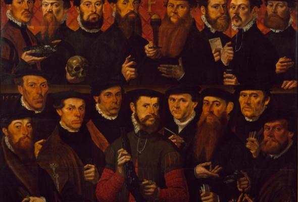 Голландский групповой портрет Золотого века из собрания Амстердамского музея - Фото №0
