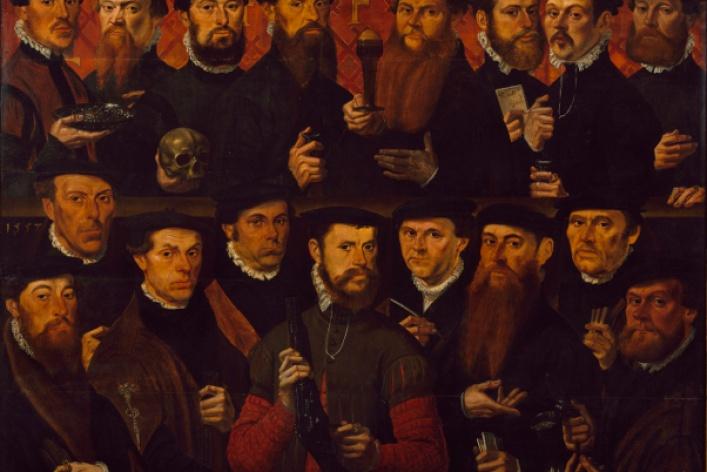 Голландский групповой портрет Золотого века из собрания Амстердамского музея