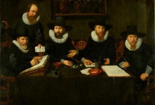 Голландский групповой портрет Золотого века из собрания Амстердамского музея - Фото №1
