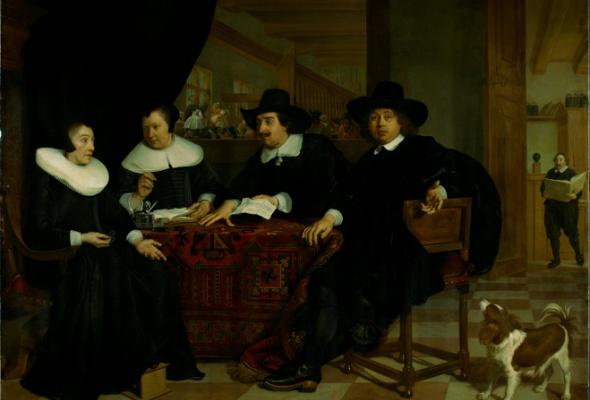 Голландский групповой портрет Золотого века из собрания Амстердамского музея - Фото №2