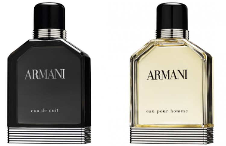 Два новых мужских аромата Giorgio Armani