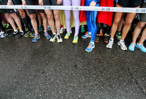 Nike. WeRun Moscow: фотоотчет - Фото №2