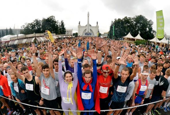Nike. WeRun Moscow: фотоотчет - Фото №1