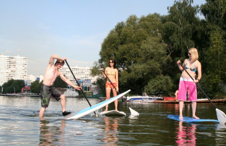 Чемпионат Москвы по SUP-серфингу