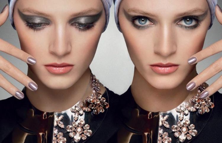 Макияж Dior в стиле осенней коллекции Mystic Metallics