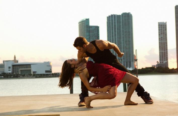 Танцевальный баттл— балет против брейкданса всаду Фонтанного дома