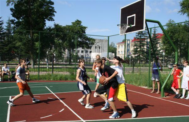 Первый набор в Академию баскетбола