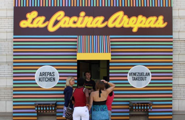ВСША открылся первый ресторан конфликтной кухни