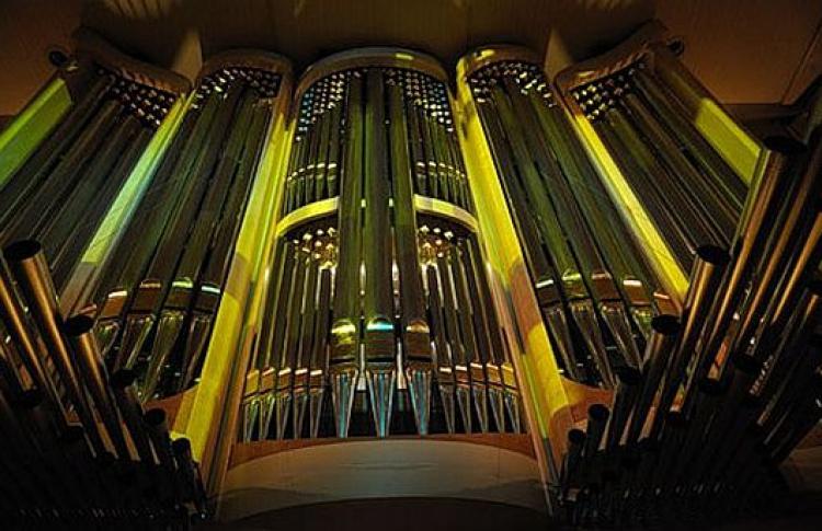 Открытие I Международного органного фестиваля
