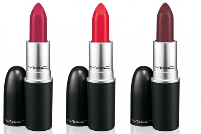 Осенний макияж губ отMAC