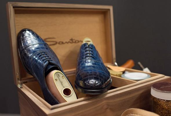 Итальянский обувной бренд Santoni запускает услугу Made-to-Measure - Фото №0