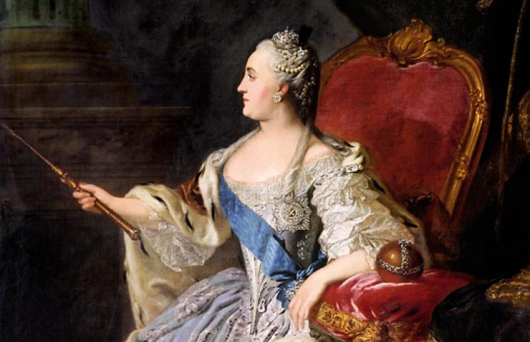 Богоподобная царевна: императрица Екатерина Великая