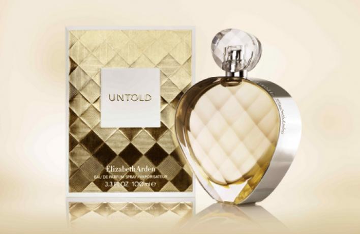 Elizabeth Arden запускает новый аромат UNTOLD