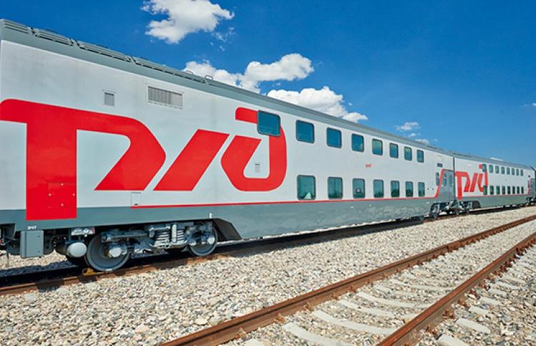 Первый двухэтажный поезд отправится изМосквы