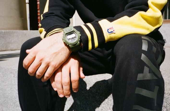 Casio выпускает часы совместно самериканским брендом уличной моды Undefeated
