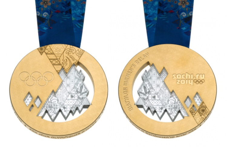 Выставка олимпийских медалей Сочи-2014