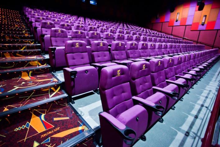 Наст.м. «Бухарестская» открыт 9-зальный кинотеатр «Люксор»