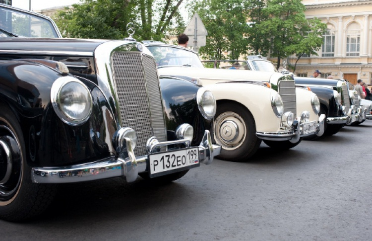 Ралли Mercedes-Benz Classic Day