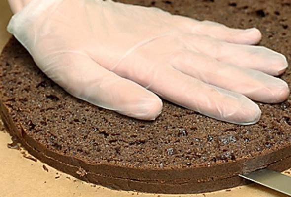 Чернично-сметанный торт - Фото №4