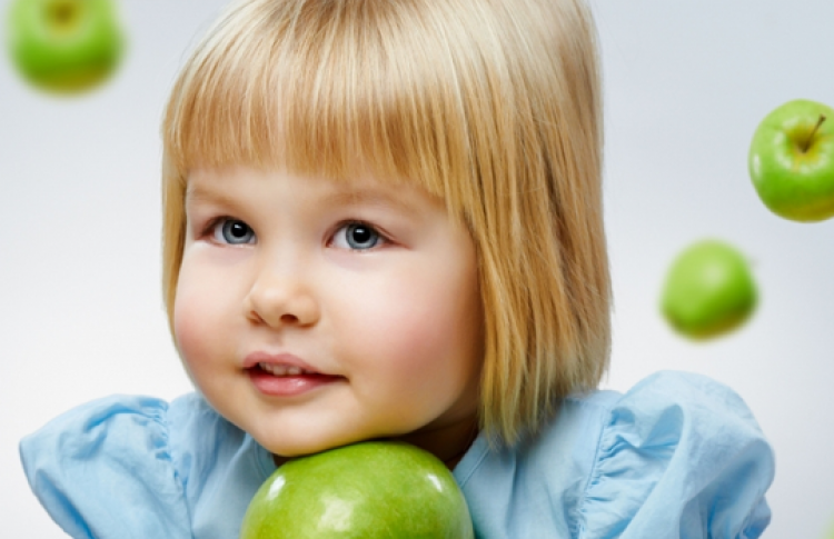 День яблок - детям