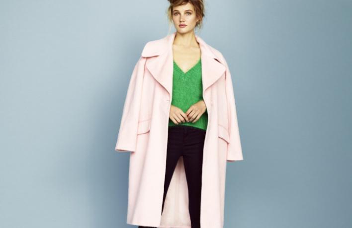 Вмагазине ASOS появилась коллекция теплых пальто