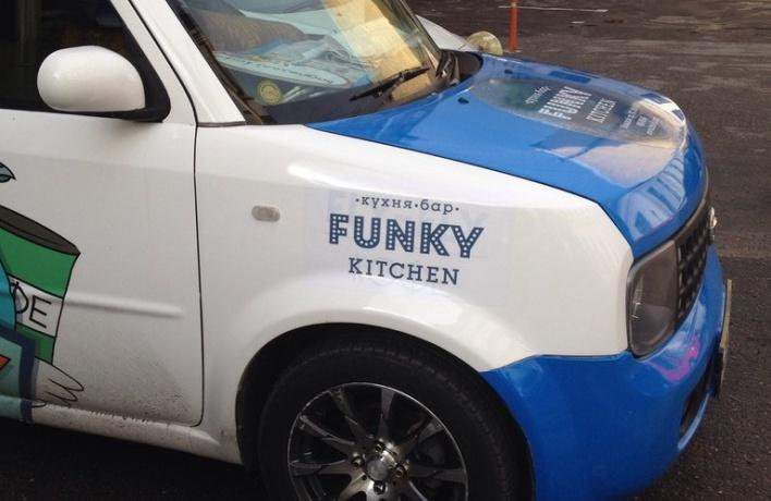 Ресторан ''Funky Kitchen'' ипестрый фургончик ''Fly Fly Coffee'' взбодрят Петроградскую сторону
