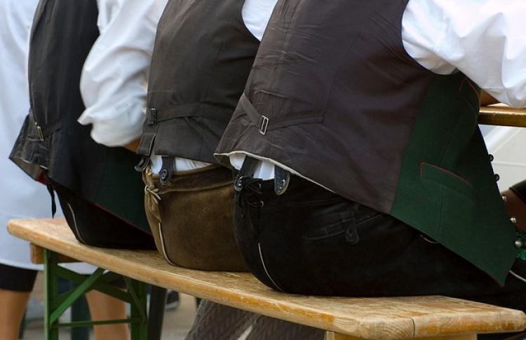 Скамья для жима сидя: Октоберфест вгороде