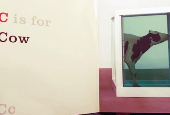 Художник-провокатор Дэмиэн Херст выпустил книгу для детей - Фото №0