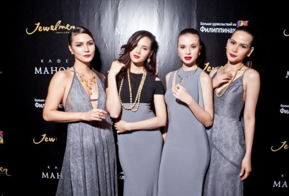 ВМоскве прошел модный показ коллекций филиппинских дизайнеров ижемчуга Jewelmer International - Фото №1