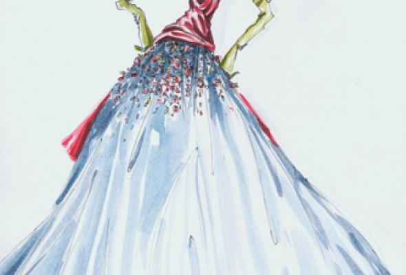 Валентин Юдашкин. Мода в пространстве искусства - Фото №1