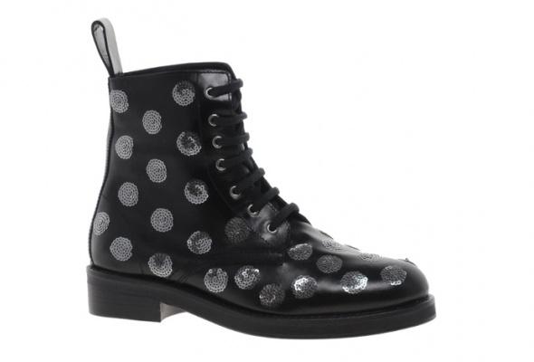 Ботинки вмужском стиле - Фото №5